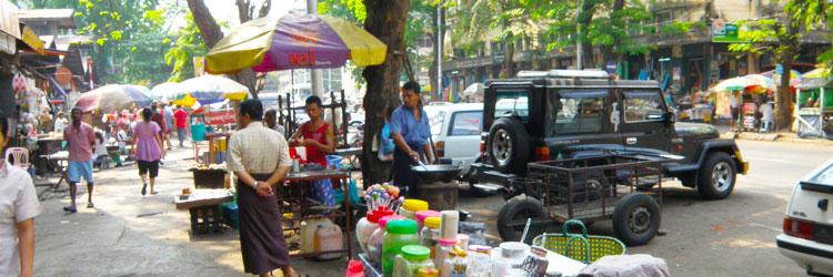 ミャンマーの状況